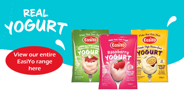 Shop our entire EasiYo range here