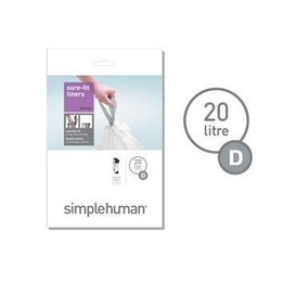 Simplehuman 20Ltr Butterfly Recycler Liners CW0163