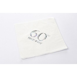 Napkins Rainbow Style- 60th Birthday
