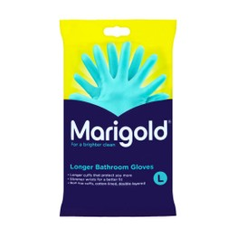 Marigold Longer Bathroom Gloves