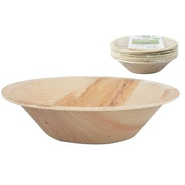 Biodegradeble Disposable Palm Leaf Bowl 13cm C2087