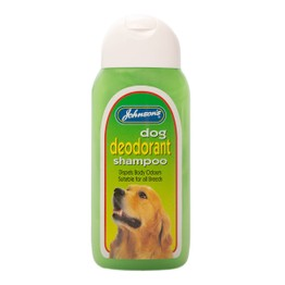 Johnsons Dog Deodorant Shampoo 200ml G019