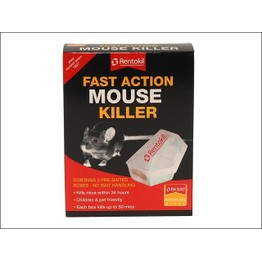 Rentokil Fast Action Mouse Killer PSF135