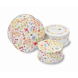 Bee Happy Set of 3 Round Cake Tins