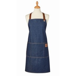 Apron Oxford Denim Blue
