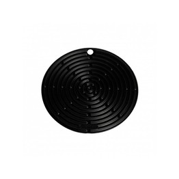 Le Creuset Black Round Silicone Cool Tool Trivet
