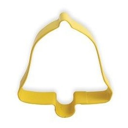 Cookie Cutter Yellow Bell 8.5cm