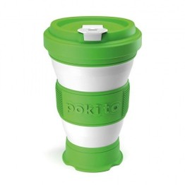 Pokito Pop Up Travel Cup Lime Green