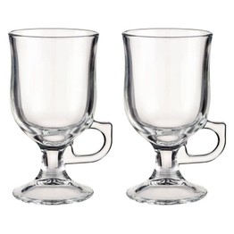 Irish Coffee Glass Pair