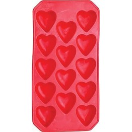 Bar Craft Ice Cube Tray Heart Shaped