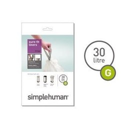 Simplehuman 30Ltr Round Liners CW0166