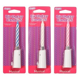 Culpitt Musical Birthday Cake Candles 9579