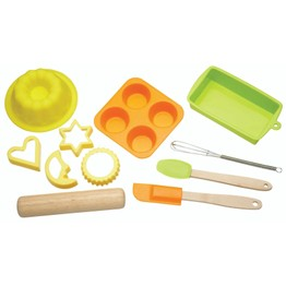 Children's Eleven Piece Silicone Bakeware Set