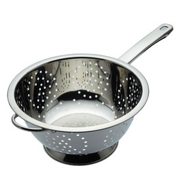 Stainless Steel Long Handled Colander 24cm