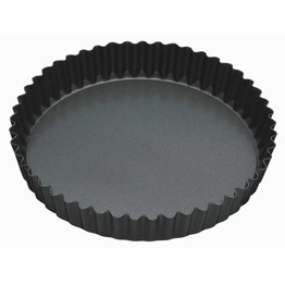 Master Class Non-Stick 30cm Loose Base Fluted Quiche Tin
