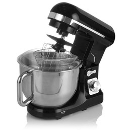 Tower Stand Mixer Black & Chrome T12033