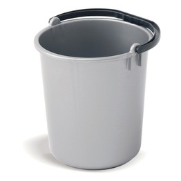 Addis Plastic Bucket 9ltr Metallic