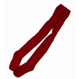Uniform for School Tights Red