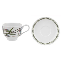 Portmeirion Pottery Seconds Botanic Garden Breakfast Cup&Saucer