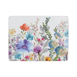 Creative Tops Meadow Floral Pack of 6 Tablemats or Coasters