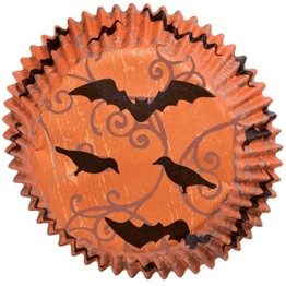 Wilton Haunted Manor Mini Cupcake Cases  415-1116