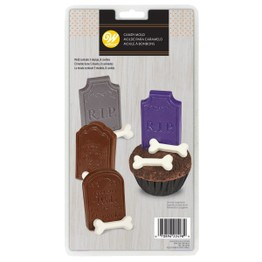 Wilton Halloween Candy Mould Tombstones 2115-2498