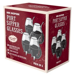 Vinology Port Sipper Glasses Pack of 4