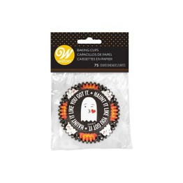 Wilton Halloween Cupcake Cases (75) Ghosts & Pumpkins