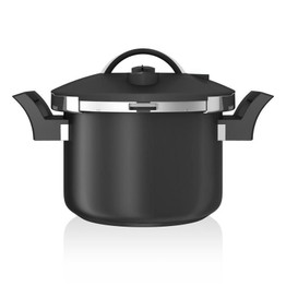 Tower Sure Touch Black Pressure Cooker 6ltr