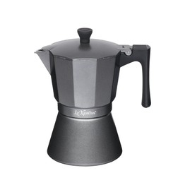 Le'Xpress Italian Style Matt Grey Coloured Espresso Coffee Maker