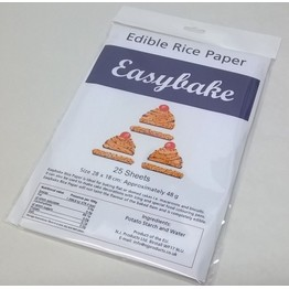 Easybake Edible Rice Paper (25pack) NJEBRP