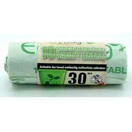 Eco Bags Compostable Caddy Liner 30 Ltr (10)
