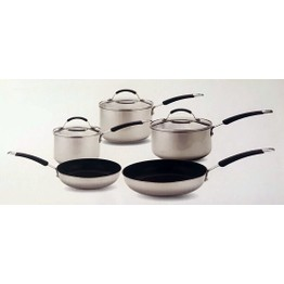 Meyer 5 Piece Stainless Steel Induction Set 70320
