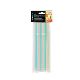 Chef Aid Biodegradeable Straws Pk40