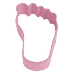 Cookie Cutter Babies Foot Pink