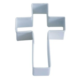 Cookie Cutter Cross White