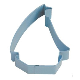 Cookie Cutter Sailing Boat Blue