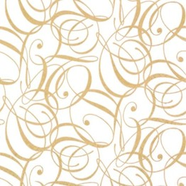 Tiflair Celebration Gold Lunch Napkins 3 ply