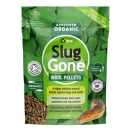 Vitax Slug Gone Wool Pellets 3.5ltr
