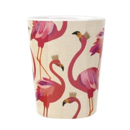Sara Miller London Portmeirion The Flamingo Melamine Beaker