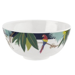 Sara Miller London Portmeirion The Parrot Melamine Bowl