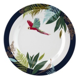 Sara Miller London Portmeirion The Parrot Melamine Side Plate