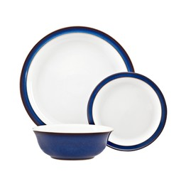 Denby Imperial Blue 12piece Tableware Set