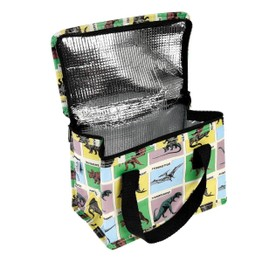 Recycled Insulated Lunch Bag Prehistoric