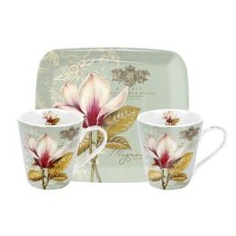 Pimpernel Vintage Toile Mugs and Tray