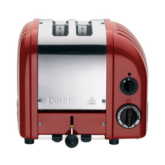 Dualit 2 Slot Classic AWS Toaster Red 20442