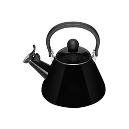 Le Creuset Satin Black Kone Stove Top Kettle 1.6ltr