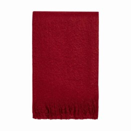 Dreams & Drapes Acrylic Throw - Red