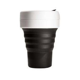 Stojo Collapsible Pocket Travel Cup Black