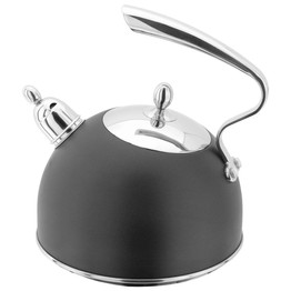 Stellar Stove Top Kettle Black 2.5ltr SV63